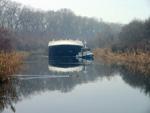 Телечка тегли нови брод