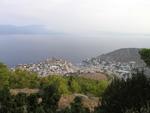 Хидра, Грчка, поглед на град