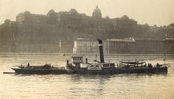 Пароброд Словенац у Будимпешти