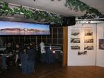 Поглед са реке, изложба на броду Леонардо