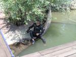 На потопљеним остацима пароброда Косово