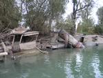 Потопљени остаци пароброда Косово