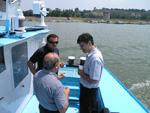 Учесници састанка Савске комисије на броду Ехо, Београд